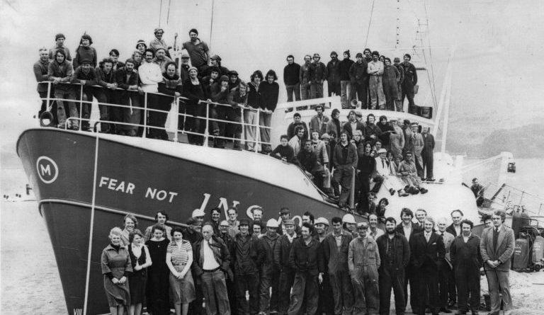 Fear Not, built in 1976 -Campbeltown Shipyard Ltd