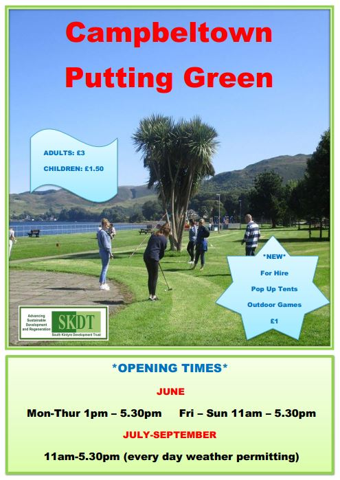 Putting Green Open